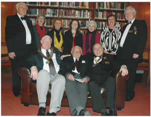 Dignitaries at a Windsor Rotary Club concert in aid of Action for Children