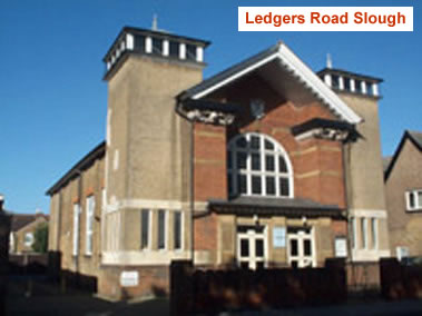 Ledgers Road Methodist Church, Slough