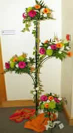 Floral display depicting Cotton