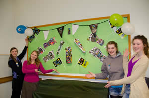 3D Fairtrade board�created by brownies