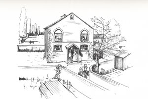 Artist's impression of Bridge Street Chapel