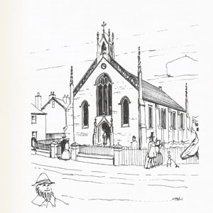 Artist's impression of High Street Chapel