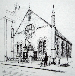 Artist's impression of Queen Street Chapel