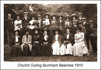 Outing to Burnham Beeches 1910