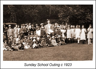 Sunday School Outing to Burnham Beeches, 1923